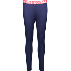 """Mons Royale W's Christy Folo Leggings Navy"""